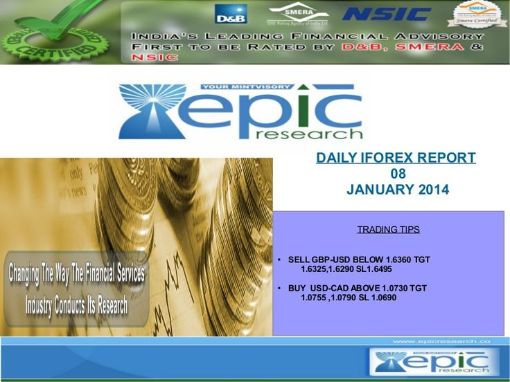 Epic Research is a leading global financial services provider. Headquartered in Indore, India, Epic has offices and representatives in U.S.A., Singapore, Australia and Middle East. With its full fledged research operations, Epic Research has proven itself as Investment Advisory Company that produces and delivers high accuracy tips and recommendations for the Singapore market .We Provide Services In :SGX Equities,SGX Derivatives - Futures and Options,Global Commodities