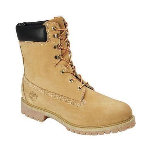 Men's Timberland Classic 8in Premium Boot Wheat Nubuck Leather