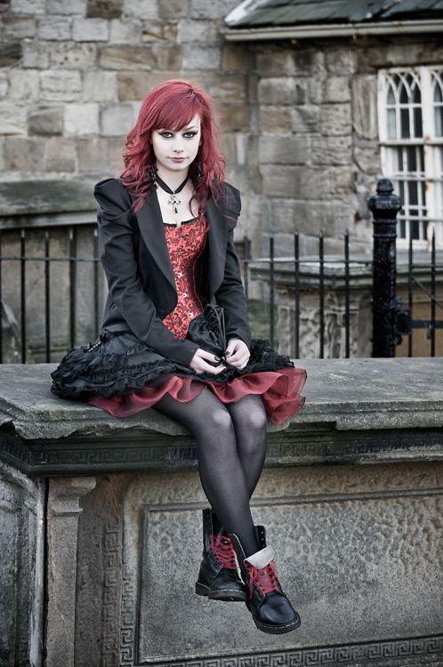 ML #Goth girl M by Bart Hoga,