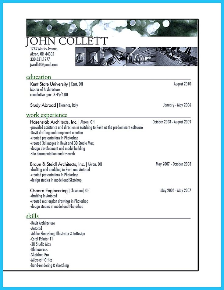 If you are an architect, and you want to make a proposal for your job, you need to provide Architect Resume Samples. You need to explain about your de... architect resume samples pdf