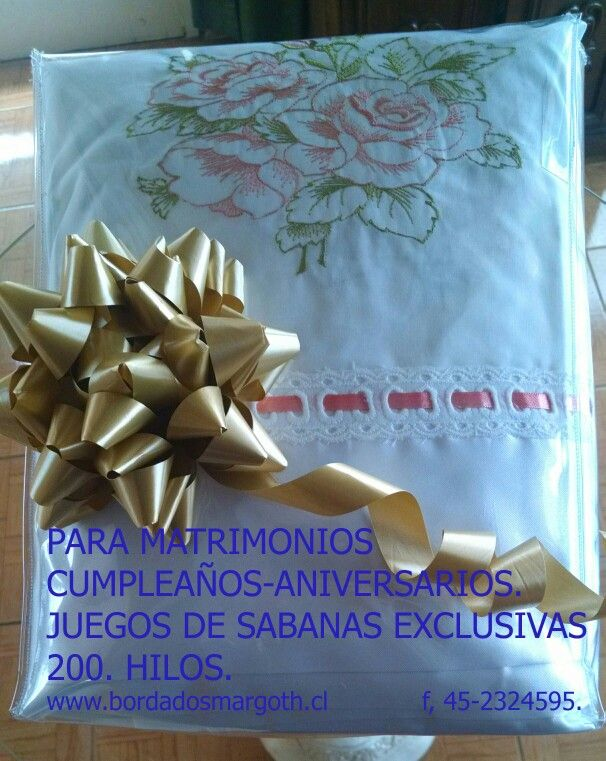 www.bordadosmargoth.cl Fono.45-2324595. Despachos a todo Chile.