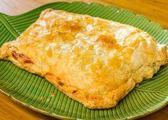 Como fazer cartoccio de salmão Receita mistura queijo gorgonzola com cream cheese no recheio