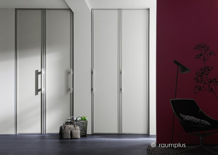 raumplus FOLDING DOOR SYSTEM  Great for closets  Maximum size 10' x 9' (4 panels), 2 panels can cover a 5' x 9' opening