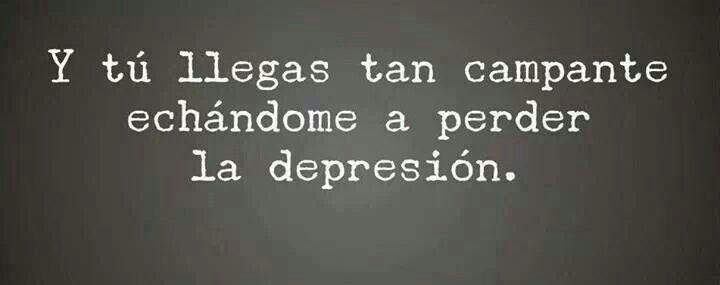 Mi depresión