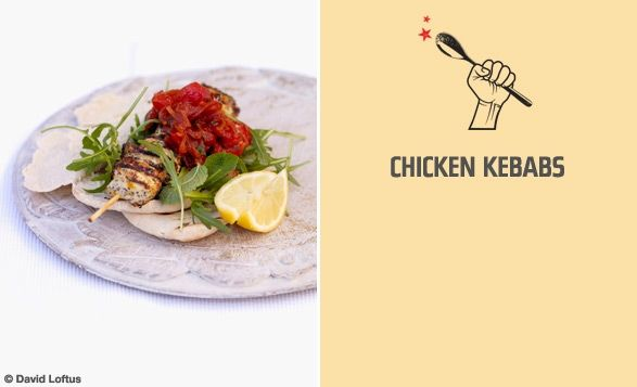 Chargrilled Chicken Kebabs