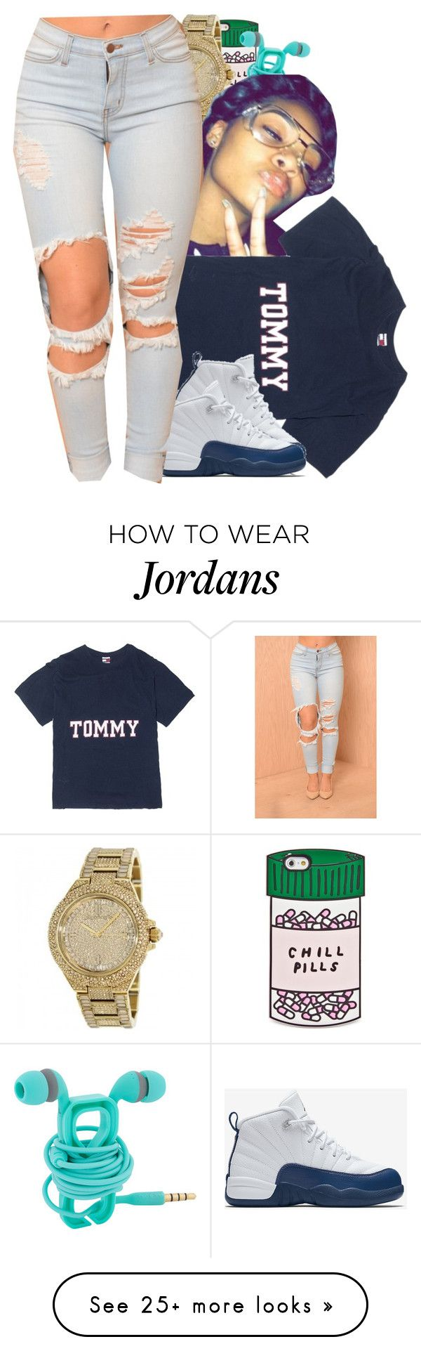 """""""Tommy said """"hey"""" """" by liveitup-167 on Polyvore featuring ban.do and NIKE"""