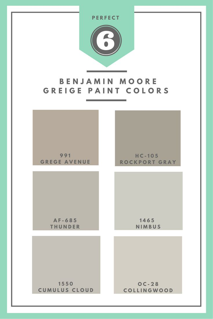 Rockport gray hc 105 paint benjamin moore rockport gray paint color - 6 Fabulous Benjamin Moore Greige Paint Colors A Home Crafter
