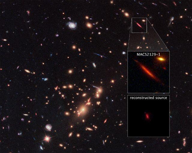 """Un articolo pubblicato sulla rivista """"Nature"""" descrive uno studio della galassia MACS 2129-1. Un team internazionale di ricercatori guidato da Sune Toft dell'Istituto Niels Bohr (NBI) dell'Università di Copenhagen, in Danimarca, ha utilizzato il telescopio spaziale Hubble e il Very Large Telescope (VLT) dell'ESO per raccogliere informazioni su MACS 2129-1. Il risultato è che non si stanno formando nuove stelle e ciò è davvero sorprendente perché a causa la sua distanza noi la vediamo com'era…"""