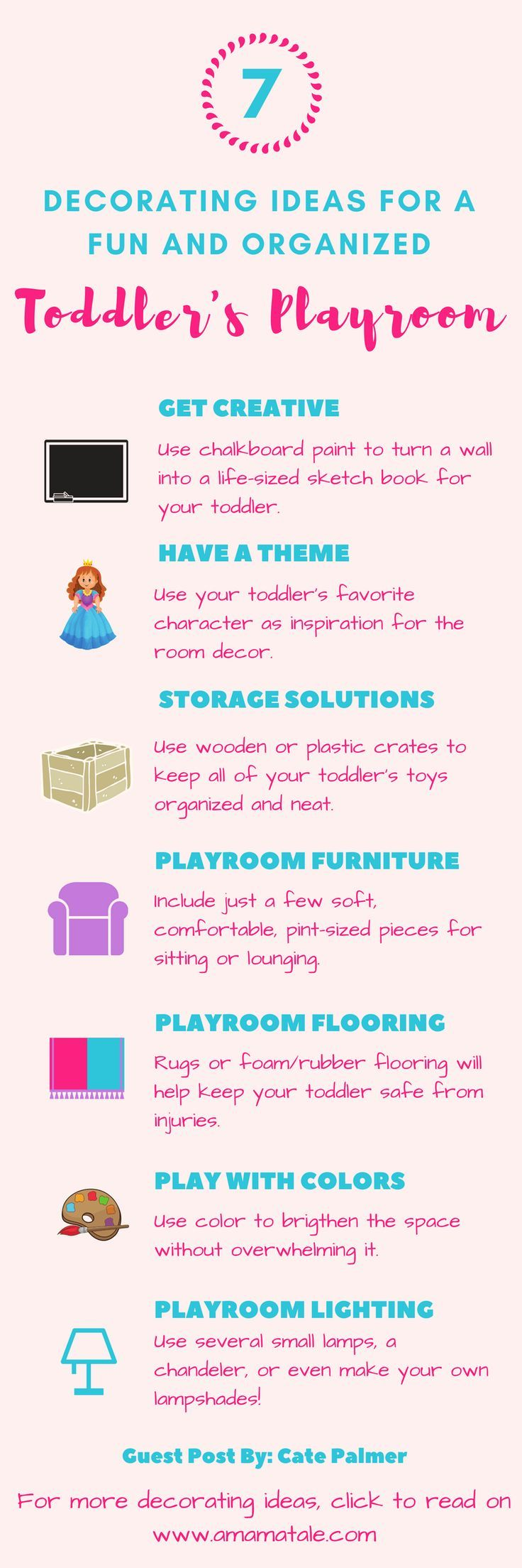 Frugal tips for organizing kids rooms thrifty nw mom fresh bedrooms - 7 Decorating Ideas For A Fun And Organized Toddler Playroom Home Decor Diy