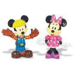 Mickey Mouse Clubhouse Animated Figures: Construction Mickey and Minnie by Character Direct. $23.99. Compatible with Mickey Mouse Talking Clubhouse and Counting Car. Animated Talking Figures. Mickey Mouse Clubhouse Characters move and talk to each other! Collectible Micky Mouse Clubhouse Animated Talking Figures captivate and entertain! Thanks to the magic of electronics, Mickey, Minnie, Donald, Daisy, Goofy and Pluto come alive, moving and talking to each other. Collect t...