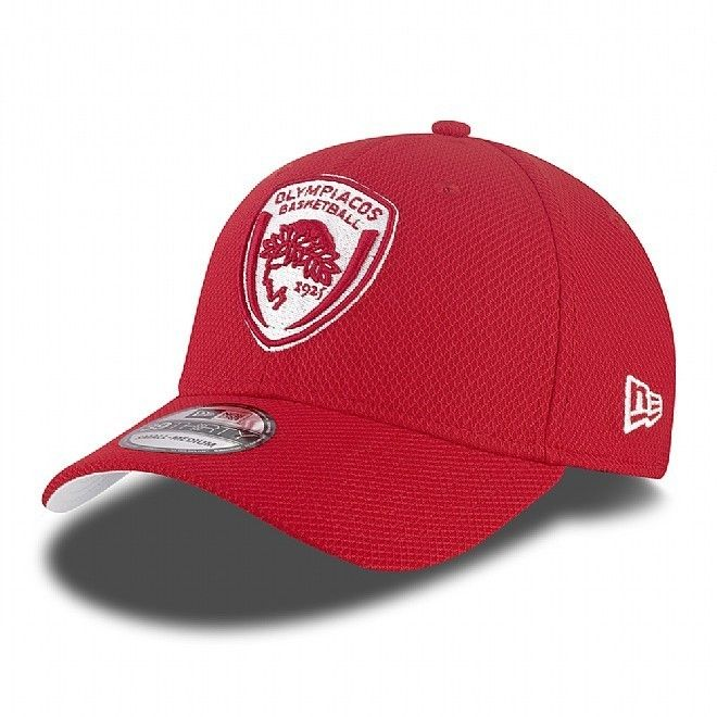 "Gorra Euroliga New Era ""Olympiacos"" 39THIRTY http://www.basketspirit.com/epages/268403.sf/es_ES/?ObjectID=4853198&ViewAction=FacetedSearchProducts&SearchString=new+era"
