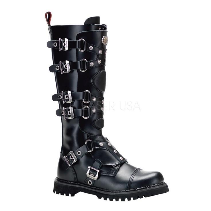 Botas Y Zapatos Alternativos Unisex Punk Rock Marca Demonia - BsF 950,00 en MercadoLibre~ vegan biker boots~ So sexy with skinny jeans