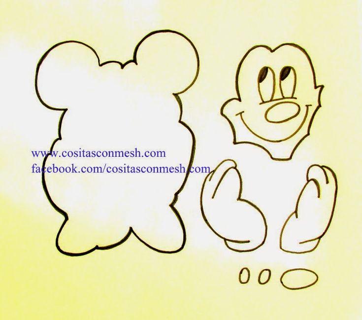 molde-mickey-mouse.JPG (800×706)