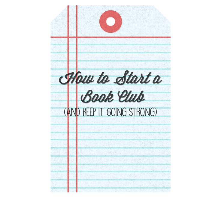 How to start a book club and keep it going