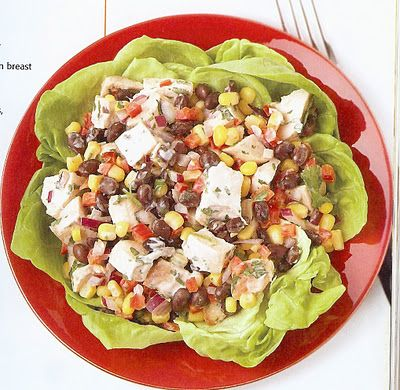 Chicken Ranch Salad- from the Body For Life Cookbook