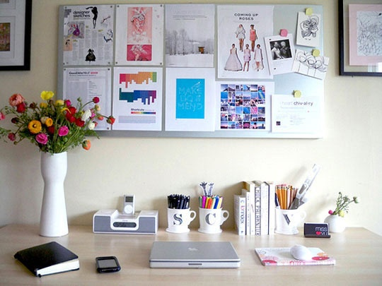 Bright home offices: Mood Boards, Spring Colors, Home Workspaces, Inspiration Boards, Work Spaces, Graphics Design, Offices Decor, Home Offices, Desks Spaces