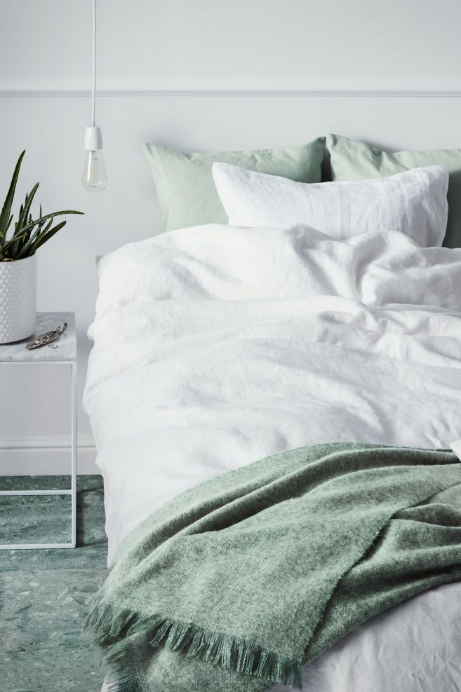 Washed Linen Duvet Cover Set White Home All H M Us Washed Linen Duvet Cover Luxury Duvet Covers Duvet Cover Sets