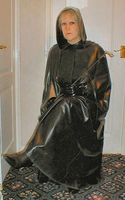 Rayna Rubber Cloak 1