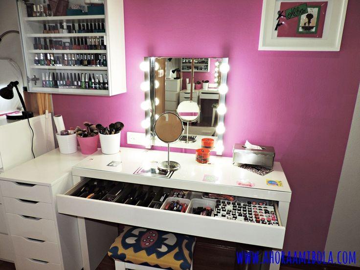 17 mejores ideas sobre mesas de maquillaje en pinterest - Ideas para hacer un tocador ...