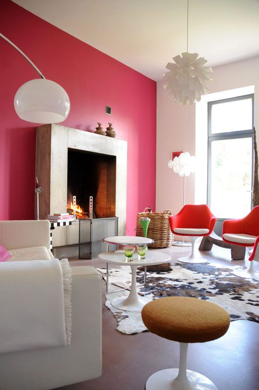 1102 best Pink,purple & red interior images on Pinterest | Red ...
