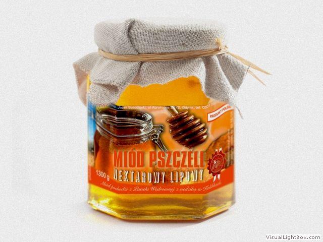 Etykieta na miód pszczeli