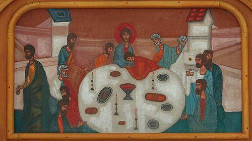 Last Supper contemporary - Ostatnia-Wieczerza