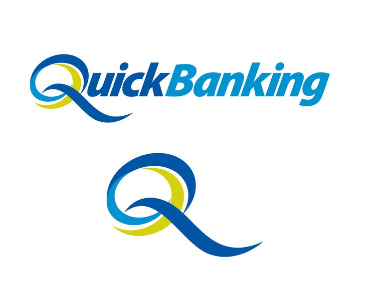 QuickBanking (Banking Software) Modern, Professional Logo Design by blue eye