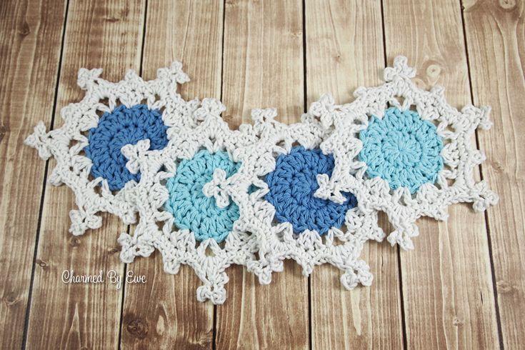 Free Snowflake Coasters Pattern