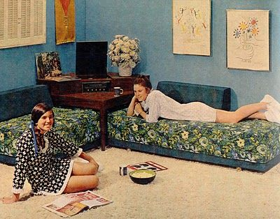 Had A Corner Group Bedroom Set I Remember This Pinterest Pajama Party And Bed