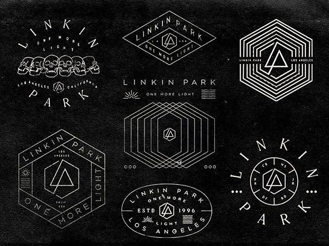 New Linkin Park designs by Brandon Rike.