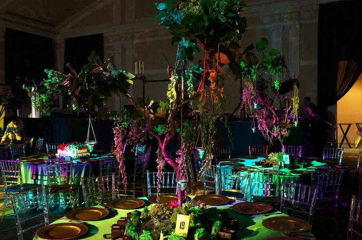 A skilled lighting designer is a must for any well-done event. Just like in this Wicked-themed event!    http://www.facebook.com/pages/Showorks-Events/113452715336