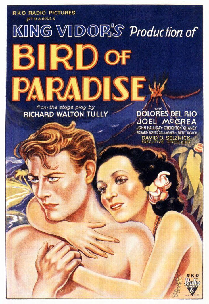 Resultado de imagem para bird of paradise 1932 poster