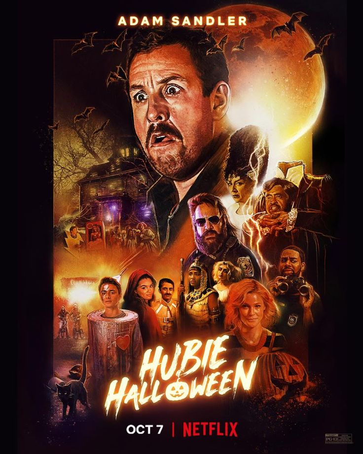 Official poster for 'Hubie Halloween' When a criminal