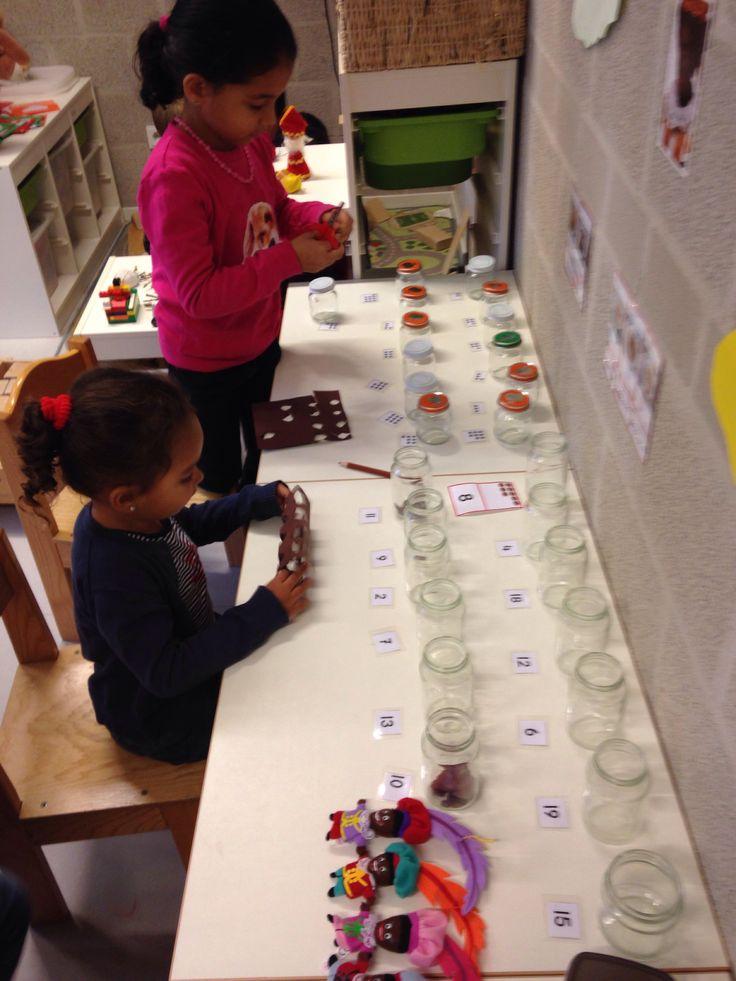 Pepernoten fabriek in de klas: rekenen met pepernoten
