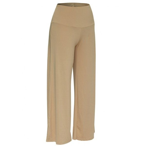 13.83$  Watch here - http://diln6.justgood.pw/go.php?t=199517353 - Elastic Waistband Palazzo Pants 13.83$