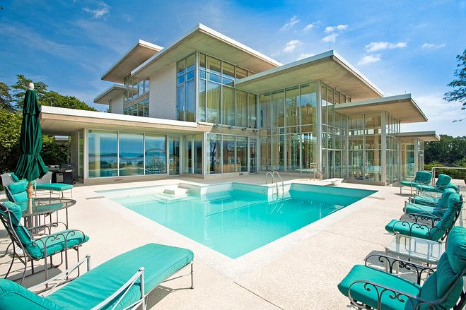 cool glass house