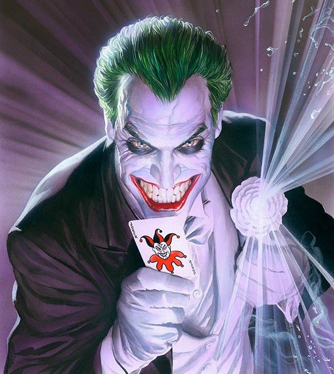 The Joker by Alex Ross                                                                                                                                                     More