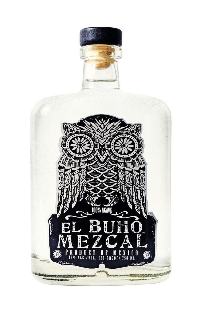 El Buho #mezcal #mescal #spirits #liquor #package #design