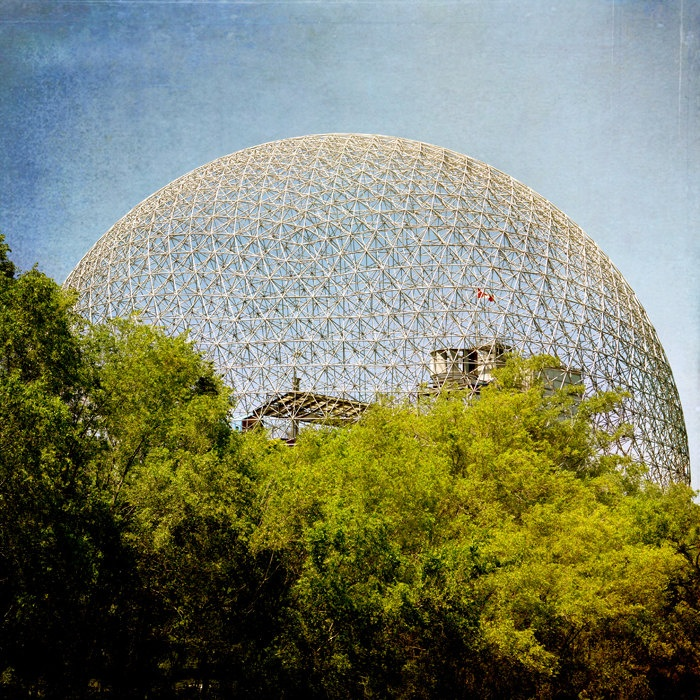 Geodesic Dome, photos by Jane Heller