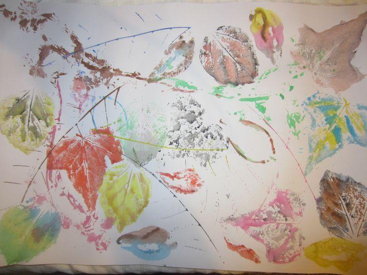 """Esta tarea se llama """"la importancia de la naturaleza"""". Trataba de realizar tres composiciones de distintas maneras sobre la naturaleza, escogiendo tres hojas o objetos naturales distintos. Además, debíamos de darle color con acuarelas pintando sobre un folio A3, dándole una forma distinta a cada composición. En mi caso, escogí tres hojas distintas y le di color y formas abstractas. Por ultimo, había que hacer una reflexión.   Con esta tarea he aprendido ha crear mediante la naturaleza."""