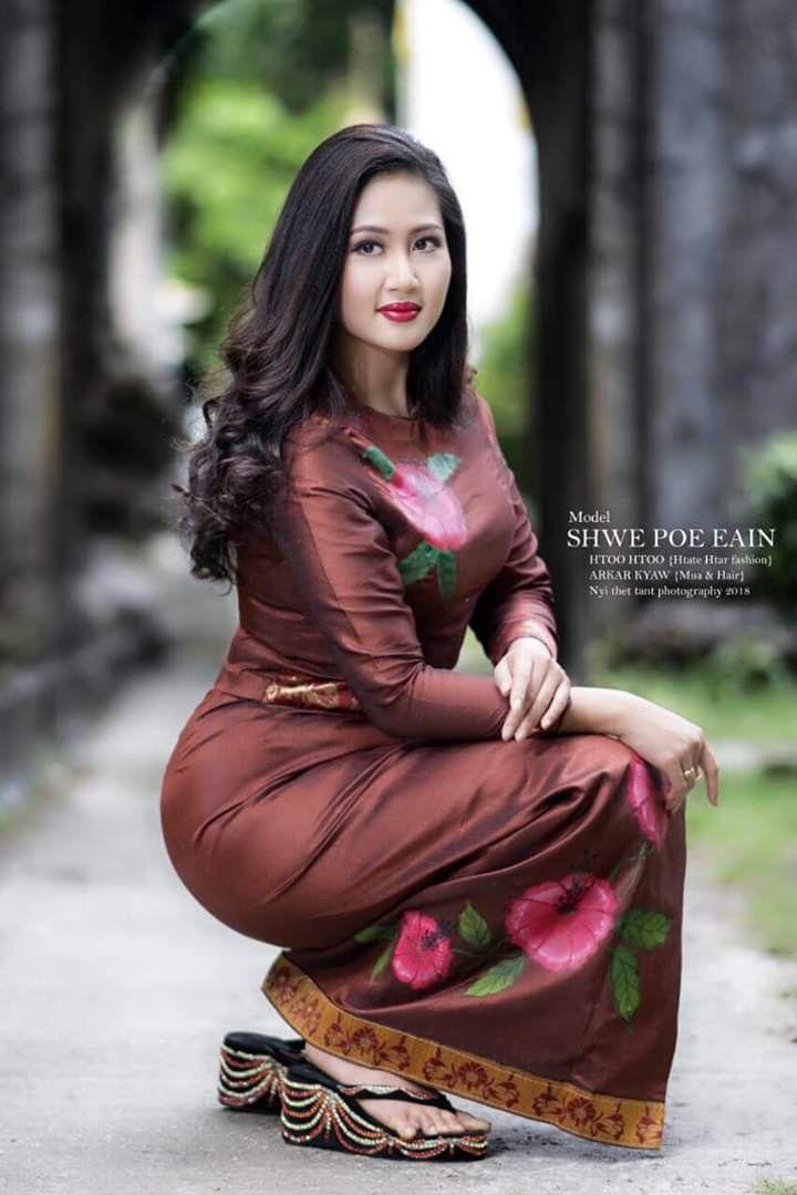 Shwe Poe Eain  Myanmar Girls In 2019  Beautiful Asian -4034