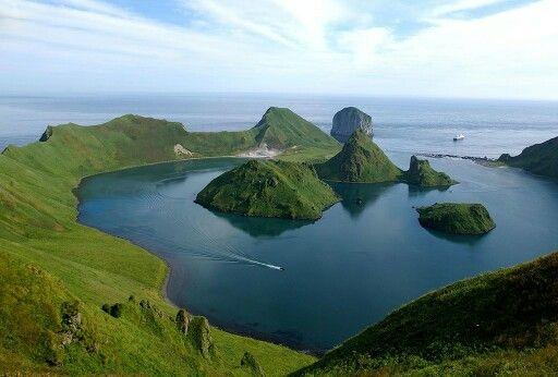 Kuril islands. Ainu lived here