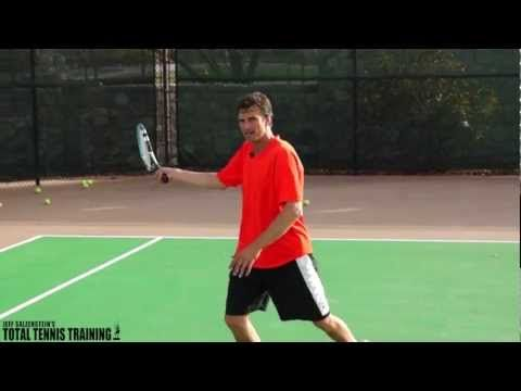 TENNIS LESSONS | How To Crush A Sitter Tennis Forehand - YouTube