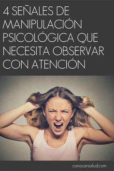 4 señales de manipulación psicológica que necesita observar con atención #salud