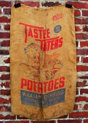 Letterology: Farm Fresh Potato Sacks