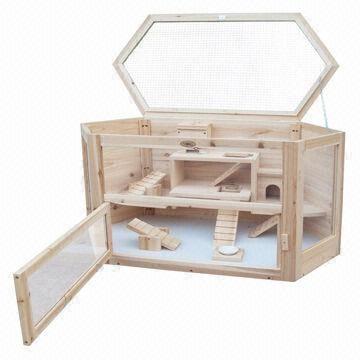 New Design Wooden Hamster Cages for Sale