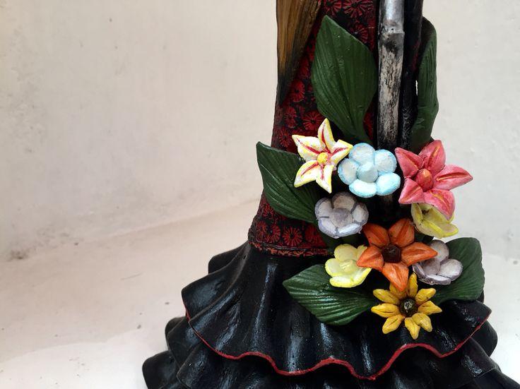 Flores catrina española