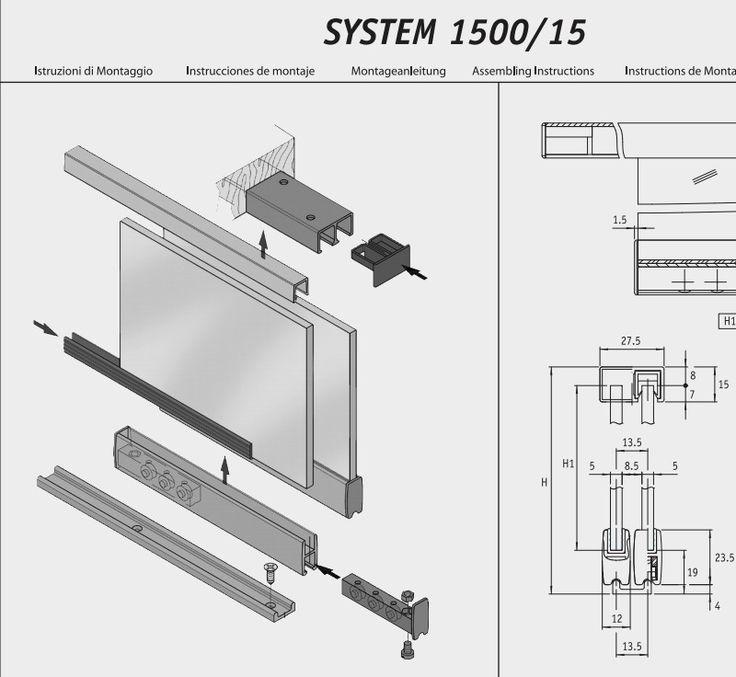 Montaehandleiding vitrine-systeem