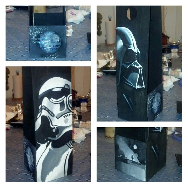 Star wars wine box diy