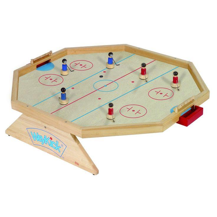 WeyKick® 2-6 Oyunculu Buz Hokey Oyunu Nasıl Oynanır? WeyKick futbol un büyük başarısından sonra yeni kuşak hokey oyunlarını beğenilerinize sunmaktan kıvanç duyuyoruz. Yeni bir ürün olarak da buz hokey sahasını öneriyoruz. Doğal olarak buz hokeyi oyuncuları futbol sahasında da kullanılabilir. Bunun terside geçerlidir. Yeni mıknatıs sistemimiz oyuncular kayarken ek olarak dönmeyede izin verir. Disk bir …
